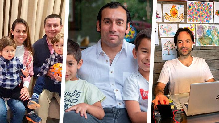 Teletrabajo y familia: Tres padres cuentan cómo la cuarentena ha transformado la relación con sus hijos