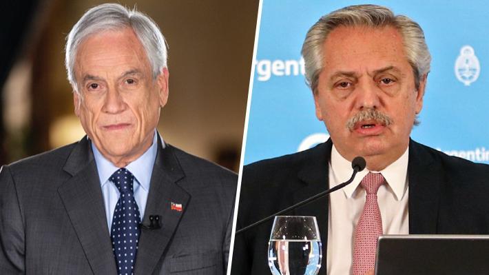 Piñera y Fernández sostienen conversación telefónica y acuerdan profundizar cooperación para enfrentar el coronavirus