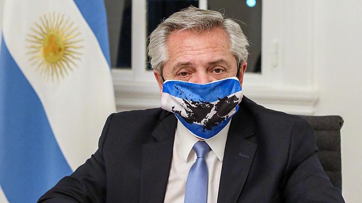 Alberto Fernández sigue recomendación médica y se recluye en su residencia para evitar contagios por covid-19