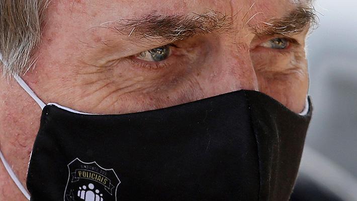 Justicia brasileña ordena a Bolsonaro usar siempre mascarilla en lugares públicos: arriesga multas si no lo hace