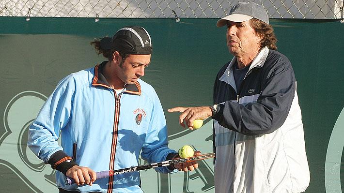 Fallece a los 81 años Patricio Rodríguez, ex tenista chileno y coach de Massú en Atenas 2004