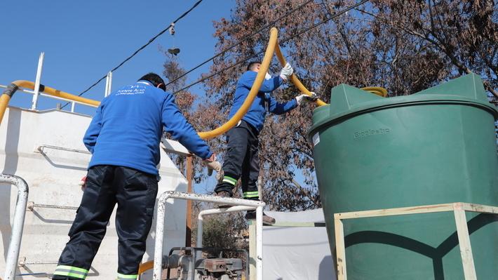"""Aguas Andinas y crisis por covid-19: """"Nadie de la RM se quedará sin agua potable por no contar con recursos económicos"""""""