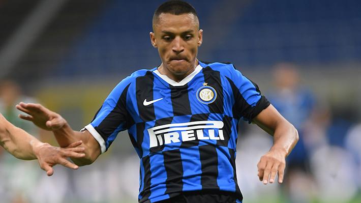 Alexis ingresó muy bien como enganche y su personalidad fue clave para que el Inter remontara y derrotara al Parma