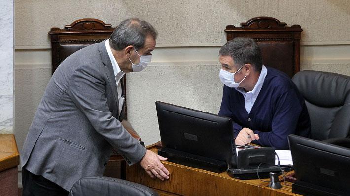 """División en RN por Desbordes: Ossandón lo defiende y Allamand dice que """"ha fallado en unir y no dividir a la centroderecha"""""""