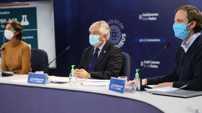 Minsal reporta 66 fallecidos inscritos en el Registro Civil: Hubo 4.017 contagios en las últimas 24 horas