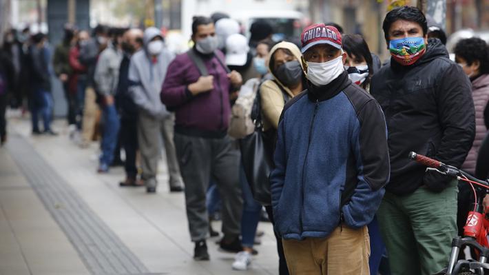 Desempleo en Chile sube hasta 11,2% en trimestre marzo-mayo y marca su mayor registro en casi 16 años por golpe del covid-19