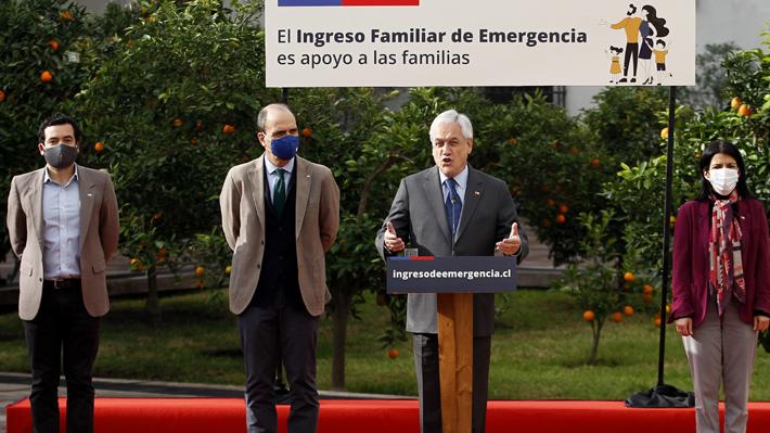 """Presidente Piñera dice que """"pronto"""" se darán a conocer beneficios para la clase media y plan de reactivación económica"""