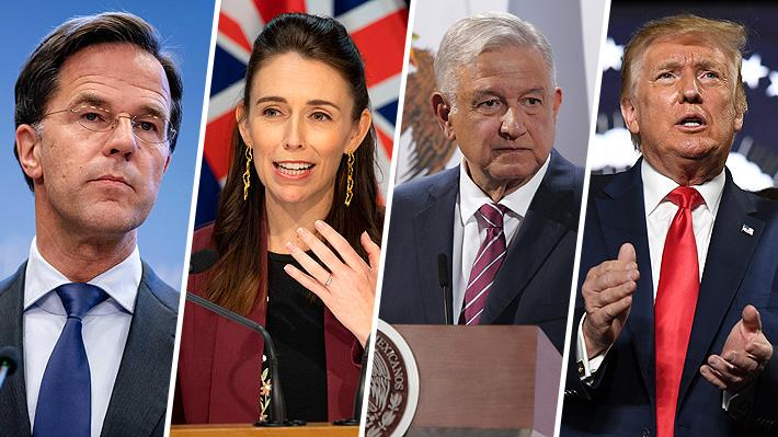 Los gestos y acciones de los líderes mundiales en medio de la pandemia que han dado que hablar