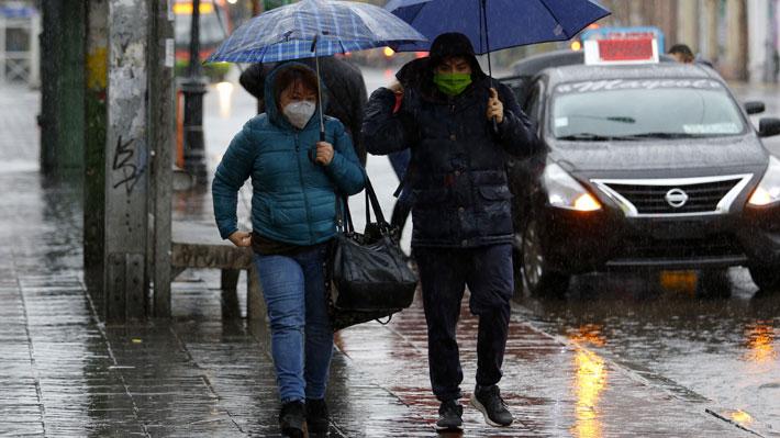 """Los días de julio """"más lluviosos del siglo"""": El balance del MOP tras el sistema frontal que afectó a la zona centro del país"""