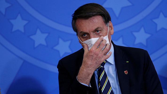 Jair Bolsonaro confirma que se contagió de covid-19 y sigue tratamiento con cloroquina