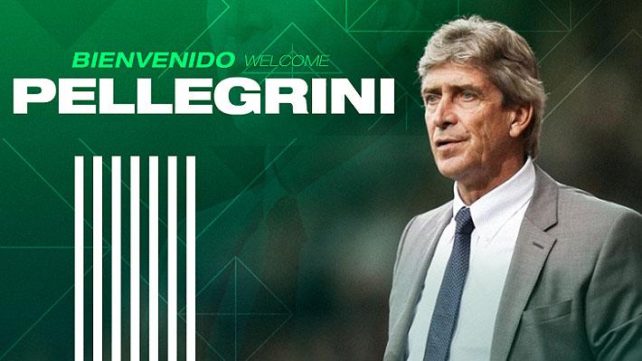 Oficial: Manuel Pellegrini es confirmado como el nuevo DT del Betis y entregan detalles de su contrato