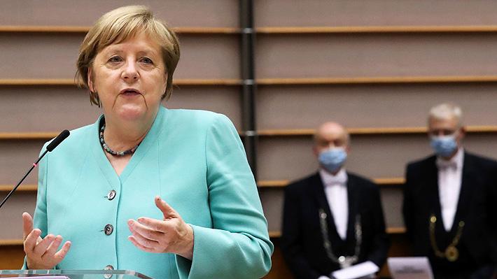 El aclamado y directo discurso de Angela Merkel donde abogó por la unidad europea ante la pandemia