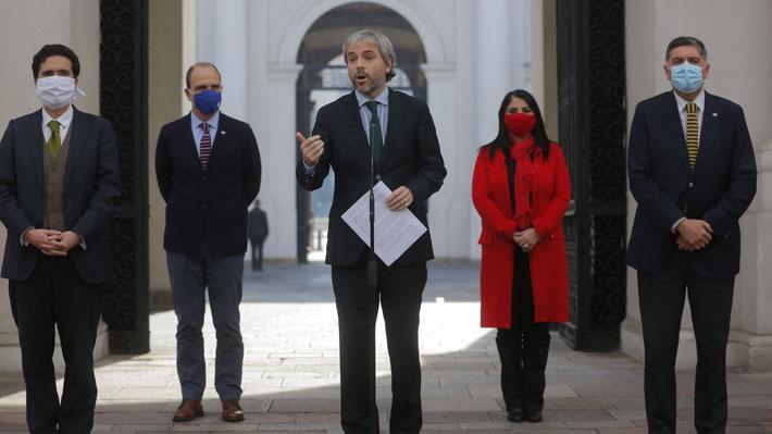 """La Moneda suspende comité político con partidos de Chile Vamos """"hasta nuevo aviso"""""""