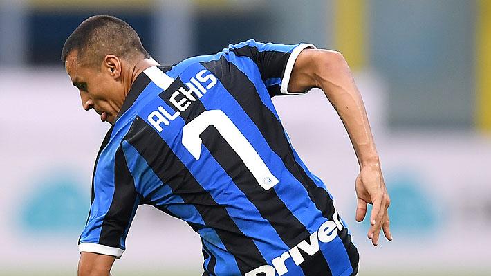 """""""Viaja en otra frecuencia, jugador de otro nivel""""... En Italia llenan de loas a Alexis tras el último duelo del Inter"""