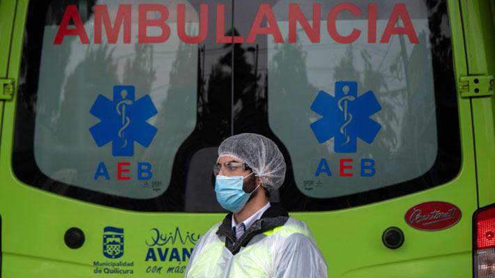 DEIS informa de 7.743 decesos confirmados y 3.484 sospechosos por covid-19 en Chile