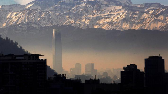 Intendencia decreta alerta ambiental para este domingo en la Región Metropolitana por tercer día consecutivo