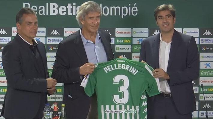 Pellegrini fue presentado: Por qué eligió al Betis sobre otras ofertas, su rotundo diagnóstico del club y el posible fichaje de Isla