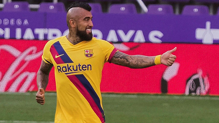 """""""Guste más o menos, nunca arruga"""": Vidal sigue sumando elogios y ahora destacan el """"récord"""" que está batiendo"""