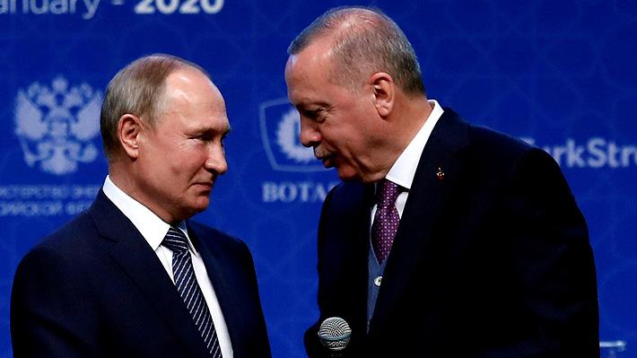 Putin le traslada a Erdogan la molestia de la Iglesia rusa por reconversión de Santa Sofía en una mezquita