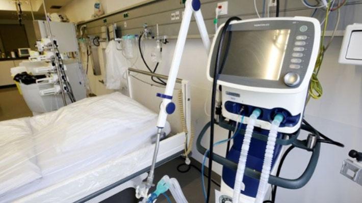 Pacientes covid-19 conectados a ventilador mecánico caen a 1.613, la cifra más baja en 25 días