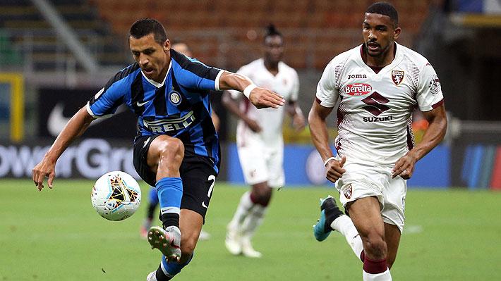 Mira las dos asistencias de Alexis en triunfo del Inter: Primero de cabeza y luego tras una notable recuperación