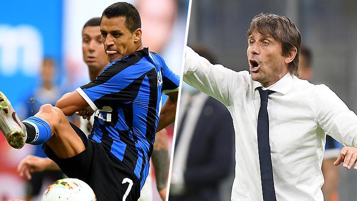 Antonio Conte alabó a Alexis, explicó lo que diferencia al chileno en el Inter y lamentó haberlo perdido tanto tiempo por lesión