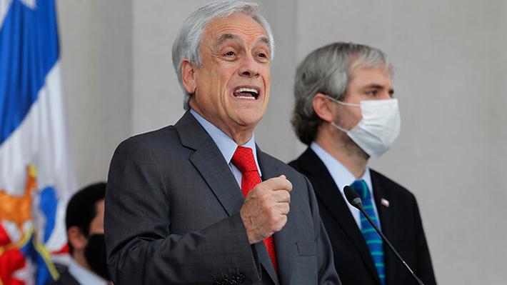 """Presidente Piñera mandata a Briones y Zaldívar para avanzar en un """"gran acuerdo nacional"""" para reformar sistema previsional"""