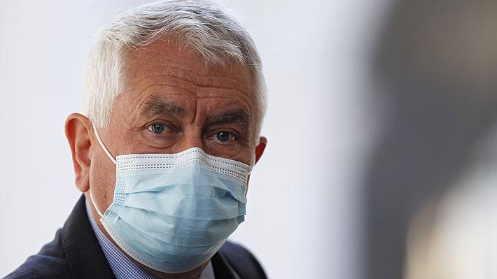 """Ministro Paris: """"Violencia y desórdenes son inmorales (...) agravan los problemas de salud"""""""