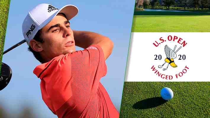 ¡En vivo! Notable Niemann... Hace un birdie de larga distancia y se mete en el top 20 del US Open