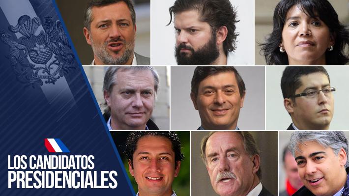 Los ejes programáticos de los nueve candidatos que se inscribieron para postular a la presidencia | Emol.com