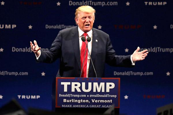 Donald Trump vuelve a usar el caso Lewinsky para atacar a Hillary Clinton