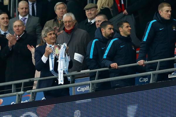 Pellegrini vuelve a hacer historia con el City y gana Copa de la Liga a meses de dejar el club