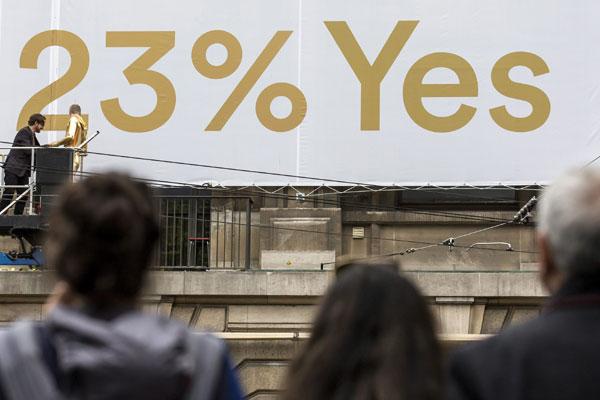 Más del 70% de los suizos rechazó proyecto de renta básica para todos