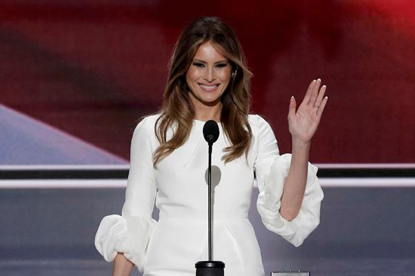 Polémica por discurso de Melania Trump: aseguran que es similar al de Michelle Obama