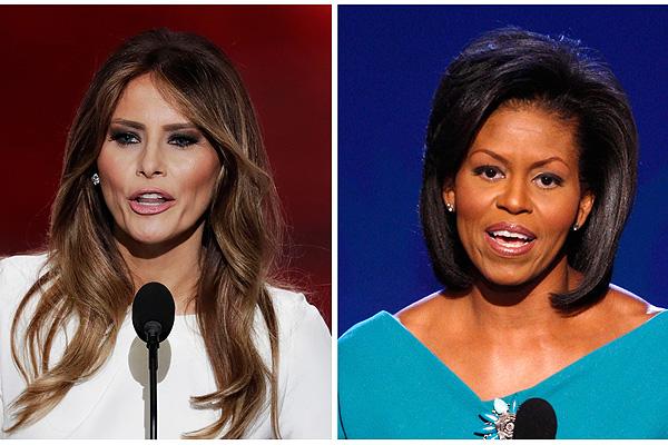 Casa Blanca evita polémica sobre posible plagio a discurso de Michelle Obama por Melania Trump