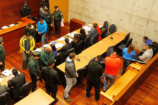 Tenencia de los diez policías detenidos fue premiada en abril por Carabineros