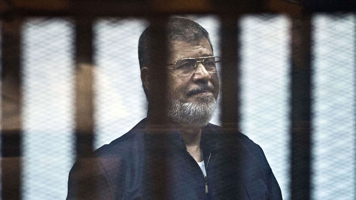 Justicia anula pena de muerte contra el ex Presidente egipcio Mohamed Mursi