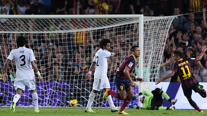 Barcelona elige el golazo de Sánchez como el mejor de la historia ante el Real Madrid en el Camp Nou