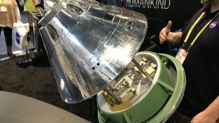 ¿Cómo es la nave que llevará al hombre a Marte? La NASA mostró sus avances en CES