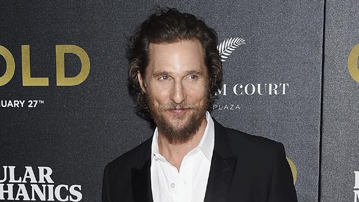 Matthew McConaughey revela cómo subió 23 kilos para su nueva película