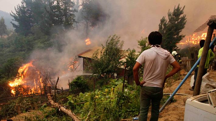 Santa Olga, la historia del pueblo de la comuna de Constitución que fue destruido por las llamas