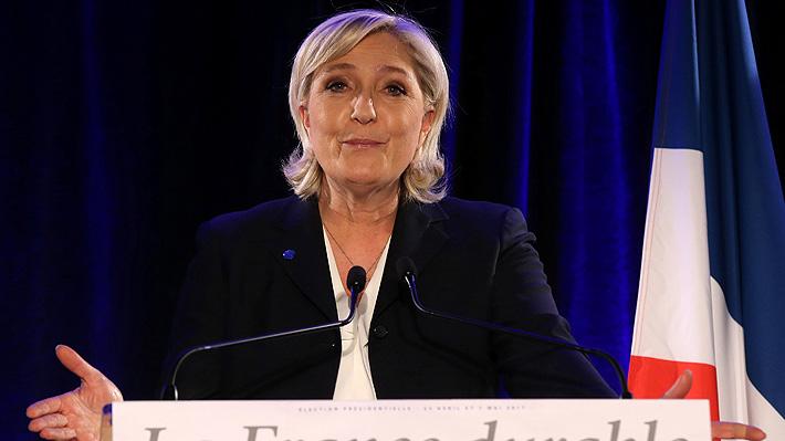 Marine Le Pen asegura haber inspirado las medidas proteccionistas de Donald Trump