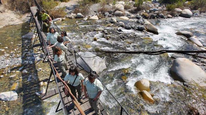 Conaf prohíbe uso del fuego u otras fuentes de calor al interior de la reserva nacional Río Clarillo