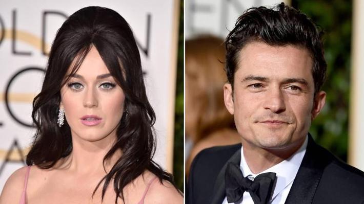 Katy Perry y Orlando Bloom anunciaron el termino de su relación tras un año juntos