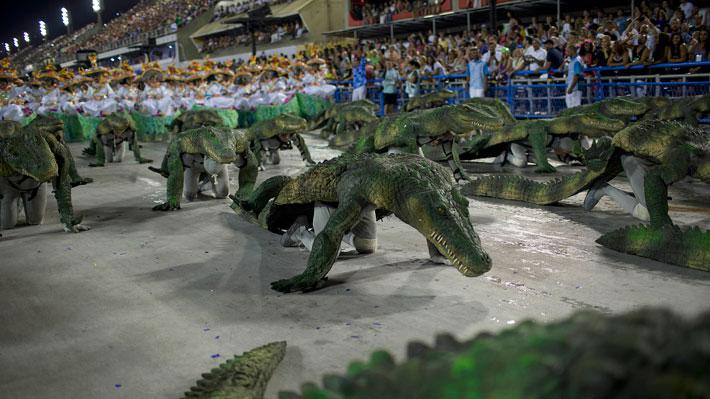 La escuela de samba Portela se corona en el Carnaval de Río