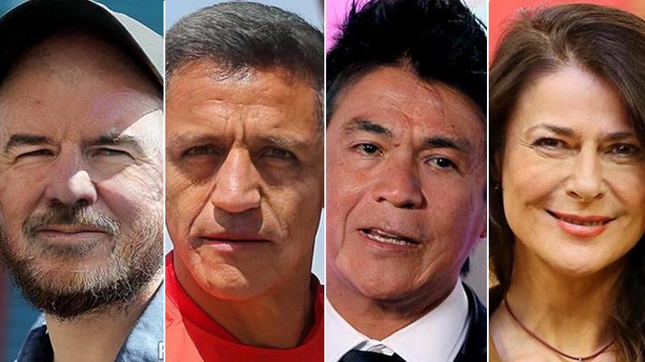 Antes y después: ¿Cómo se verían famosos chilenos cuando viejos?
