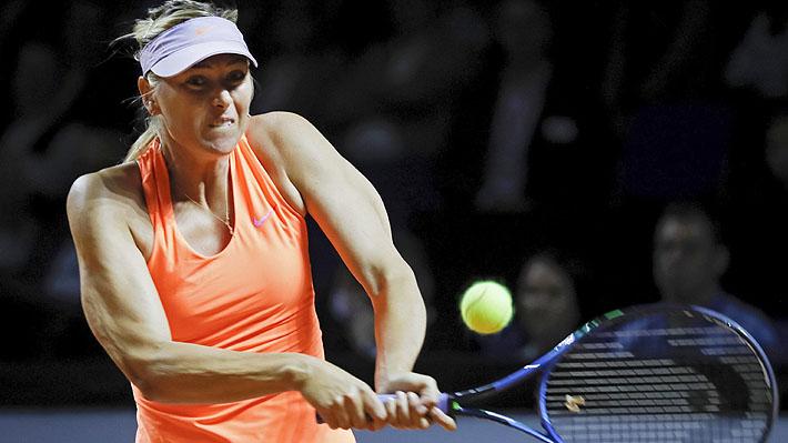 Maria Sharapova sigue con su positiva racha de triunfos tras 15 meses de suspensión por dopaje