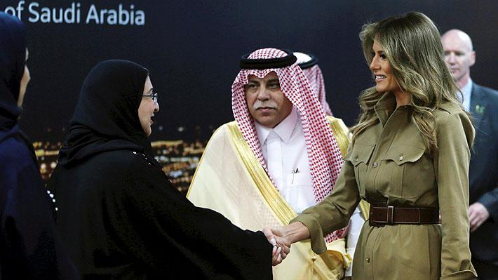 ¿Por qué Melania e Ivanka Trump han dado tanto que hablar en su visita a Arabia Saudita?
