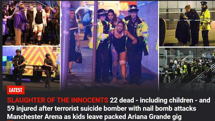 El atentado en Manchester es el segundo más grave en Inglaterra desde el de Londres en 2005
