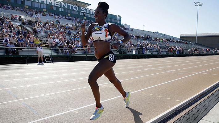 No es la primera vez que lo hace: atleta estadounidense corrió 800 metros con 5 meses de embarazo
